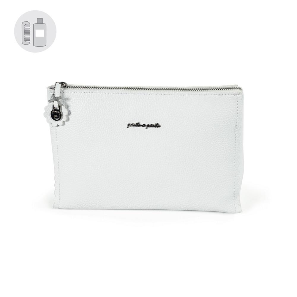 Pasito a Pasito BISCUIT Wash Bag - White