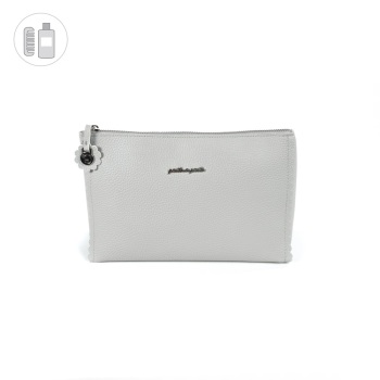 Pasito a Pasito BISCUIT Wash Bag - Grey