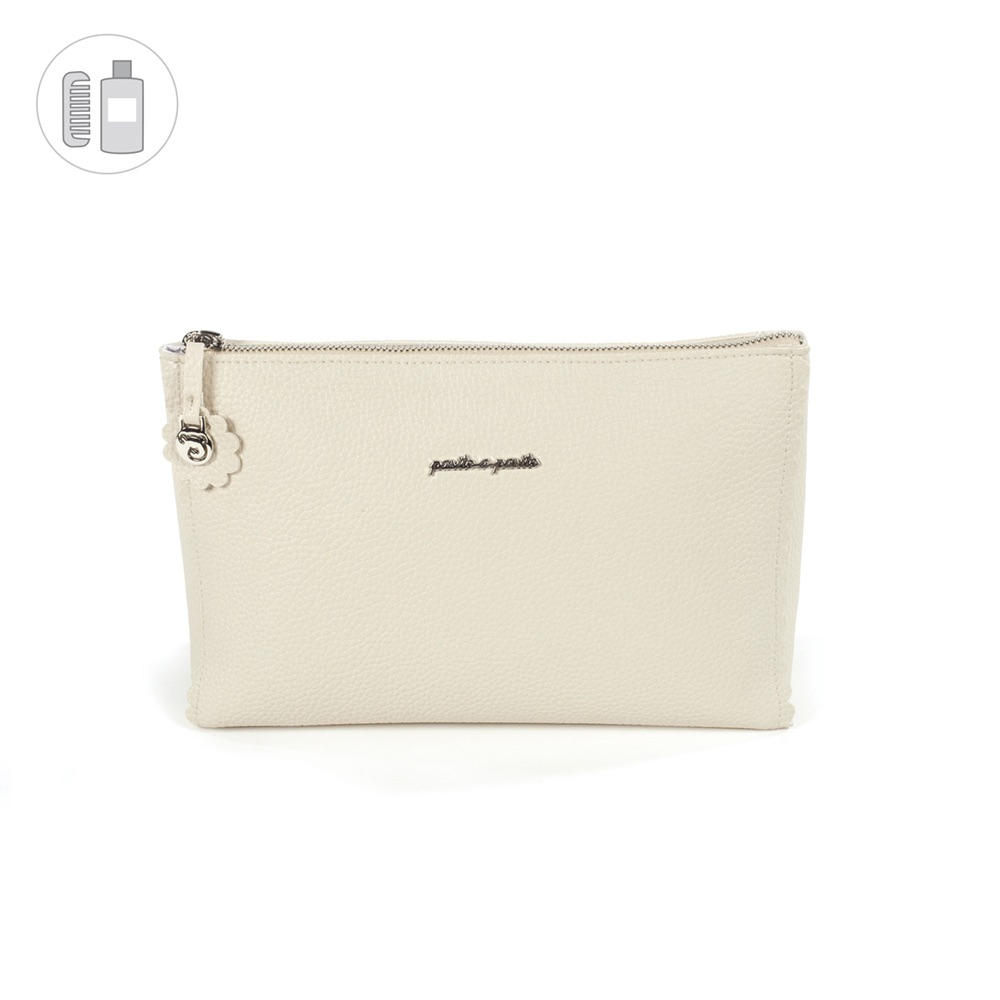 Pasito a Pasito BISCUIT Wash Bag - Beige