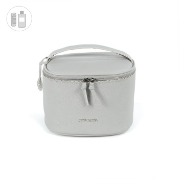 Pasito a Pasito BISCUIT Vanity Bag - Grey