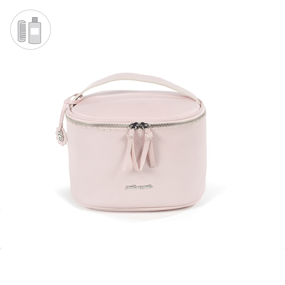 Pasito a Pasito BISCUIT Vanity Bag - Pink