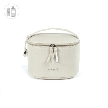 Pasito a Pasito BISCUIT Vanity Bag - Beige