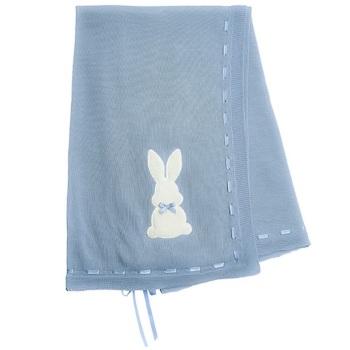 Little Bunny Shawl - Blue