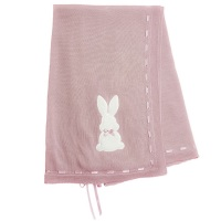 Little Bunny Shawl - Rose