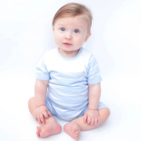 Ethan Stripe Knitted Set - Blue
