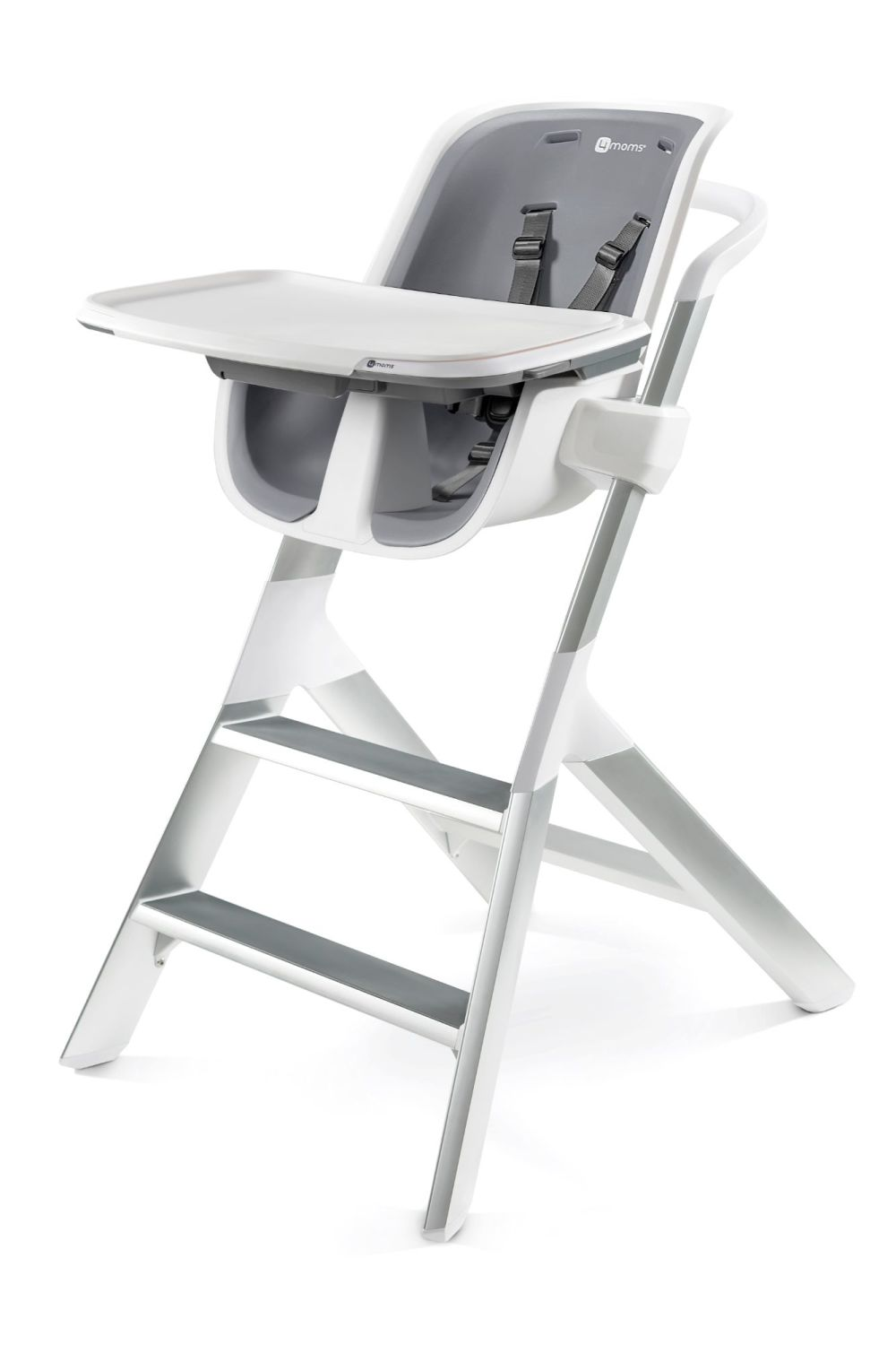 4MOMS High chair 2.1 - White/Grey