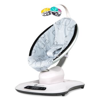 4moms mamaRoo 4 Rocker - Silver Plush