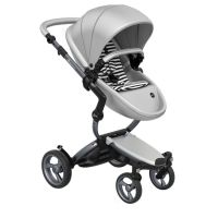 Mima Xari Pushchair - Argento + Graphite Grey Frame