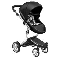 Mima Xari Pushchair - Black Flair + Aluminium Frame