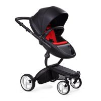 Mima Xari Pushchair - Black Flair + Black Frame