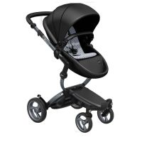 Mima Xari Pushchair - Black Flair + Graphite Grey Frame