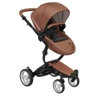 Mima Xari Pushchair - Camel Flair + Black Frame