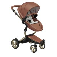 Mima Xari Pushchair - Camel Flair + Champagne Frame