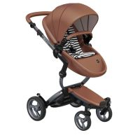 Mima Xari Pushchair - Camel Flair + Graphite Grey Frame
