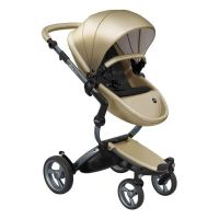 Mima Xari Pushchair - Champagne + Graphite Grey Frame