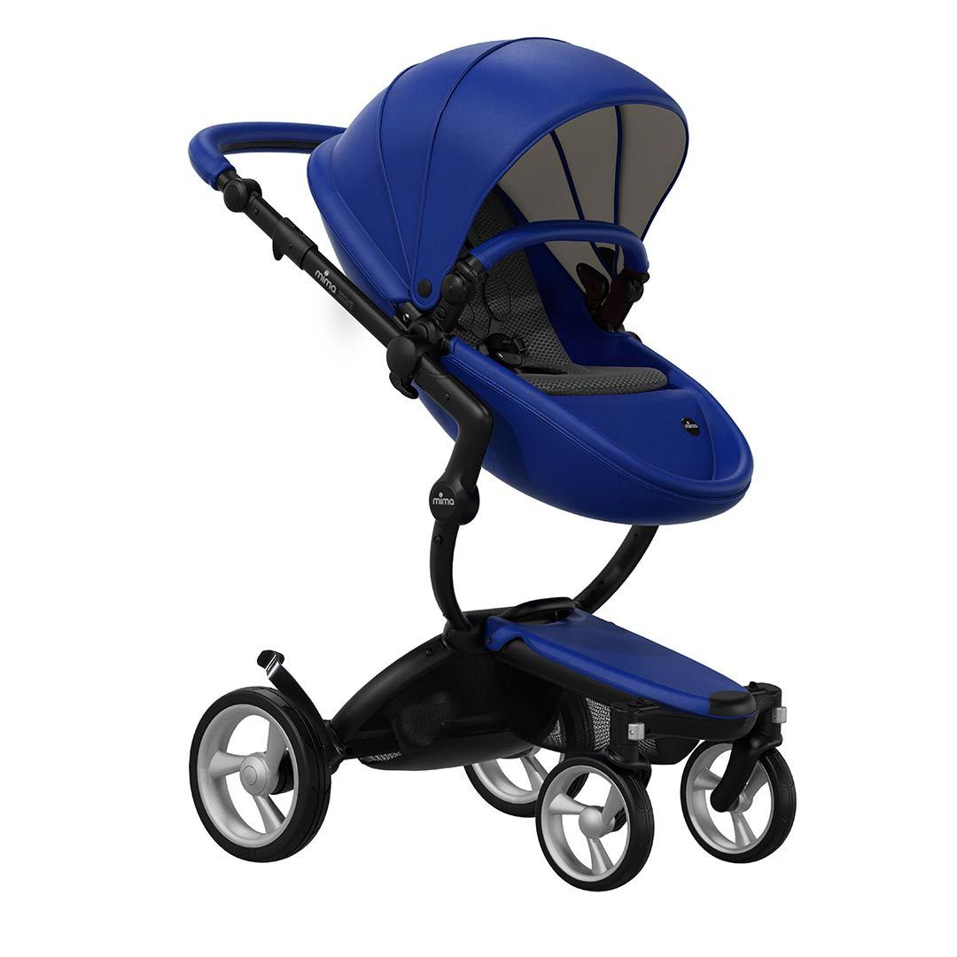 Mima Xari Pushchair - Royal Blue + Black Frame
