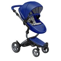 Mima Xari Pushchair - Royal Blue + Graphite Grey Frame