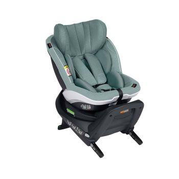 BeSafe iZi Twist i-Size Car Seat - Sea Green Melange