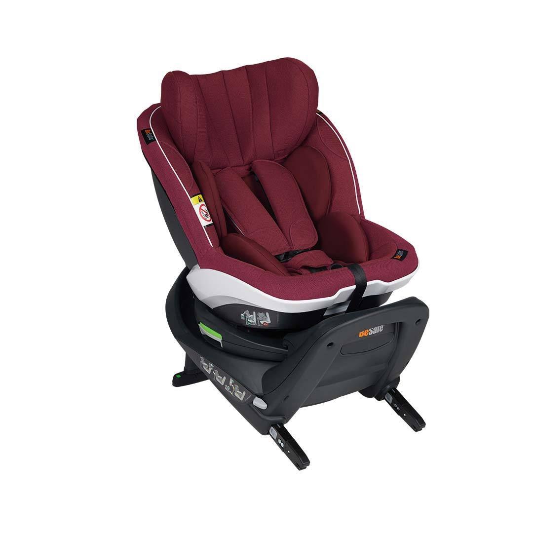 BeSafe iZi Twist i-Size Car Seat - Burgundy Melange