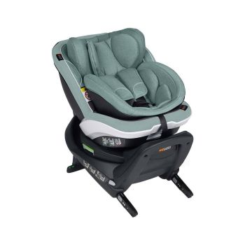 BeSafe iZi Twist B i-Size Car Seat - Sea Green Melange