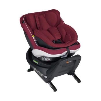 BeSafe iZi Twist B i-Size Car Seat - Burgundy Melange