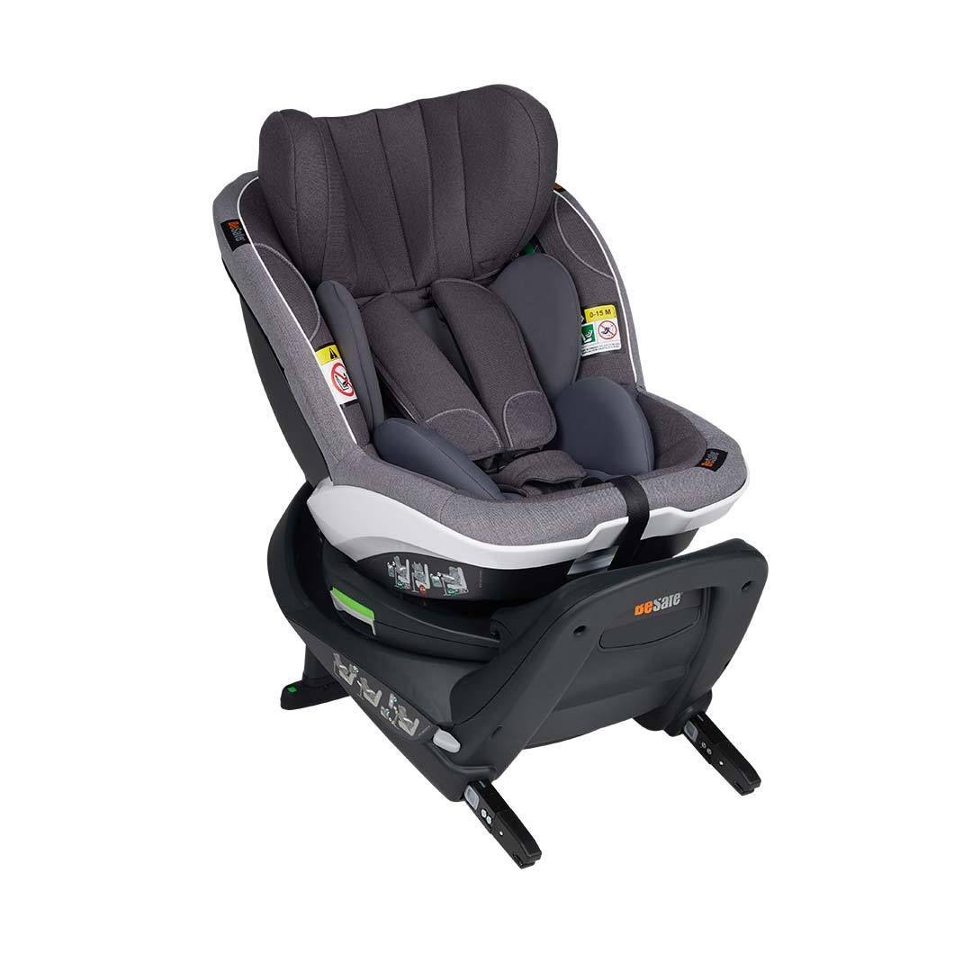 BeSafe iZi Turn i-Size Car Seat - Metallic Melange