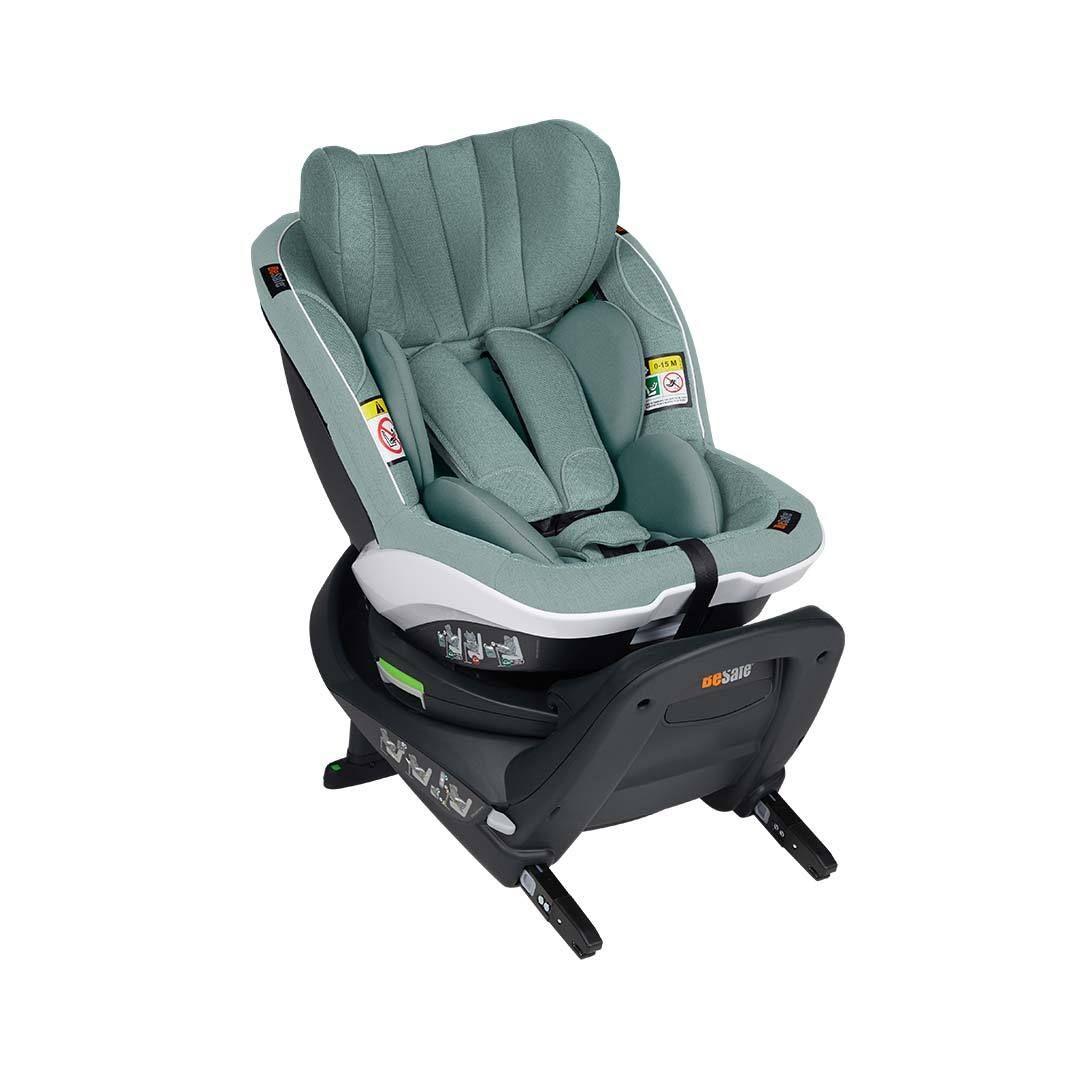 BeSafe iZi Turn i-Size Car Seat - Sea Green Melange