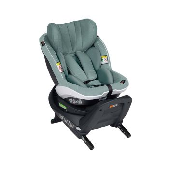 BeSafe iZi Turn i-Size Car Seat - Sea Green Melange