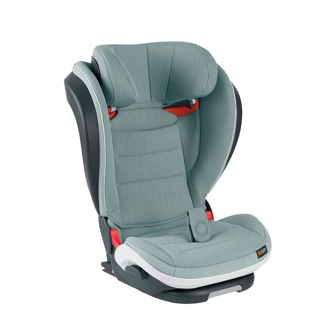 BeSafe iZi Flex Fix i-Size Car Seat - Sea Green Melange