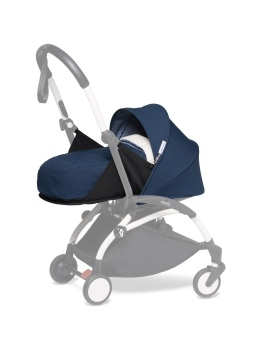 BABYZEN YOYO Newborn Pack - Sherpa/Air France Blue