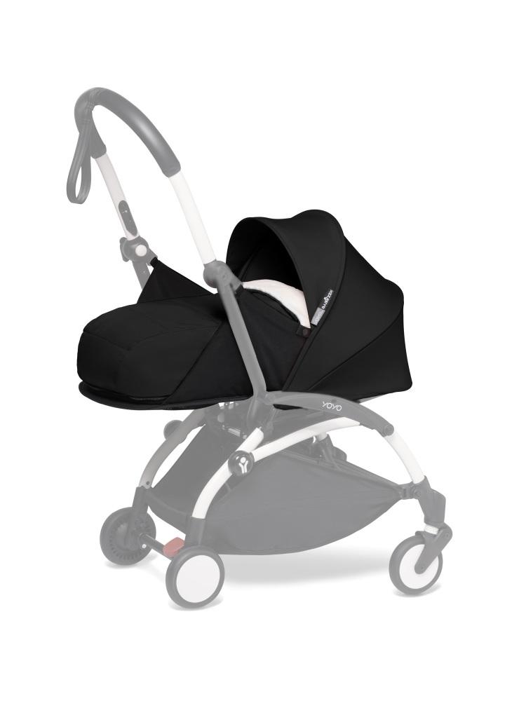 BABYZEN YOYO Newborn Pack - Sherpa/Black