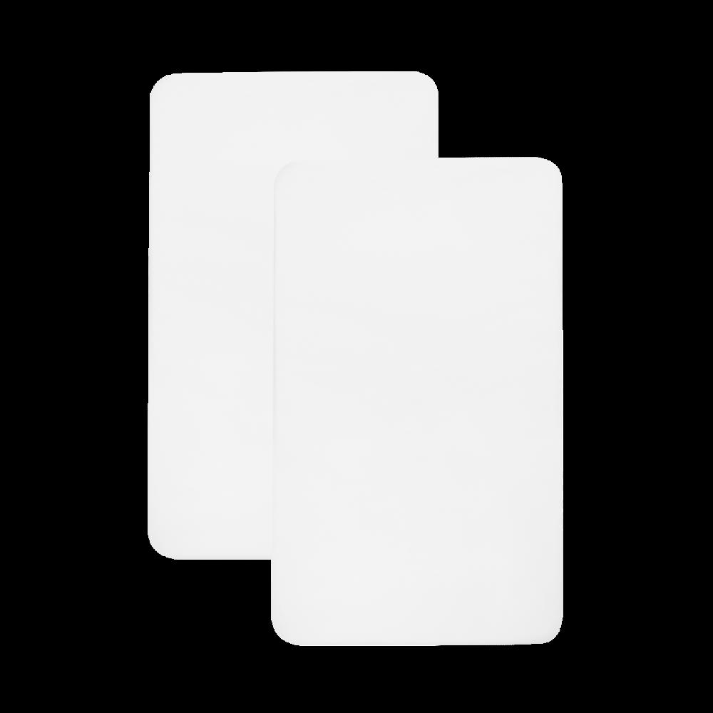 Shnuggle Air Crib Fitted Sheets – Plain White