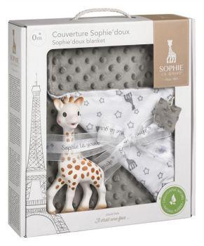 Sophie la Giraffe Sophie'doux Blanket Gift Set