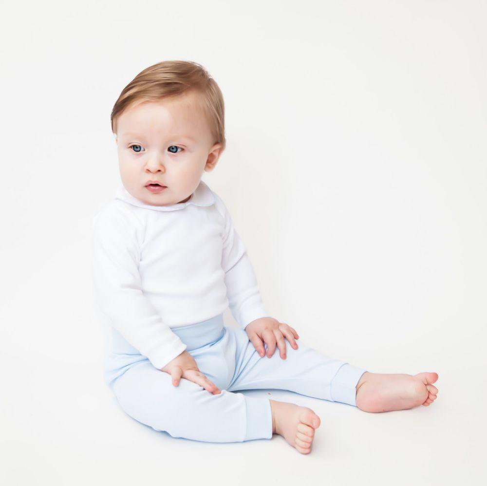 Baby Gi Soft Cotton Leggings - Blue
