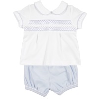 Mintini Baby Smock Top & Shorts Set
