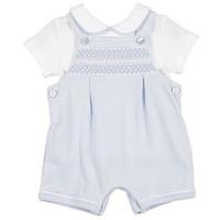 Mintini Baby Smock Bib Shorts & Top