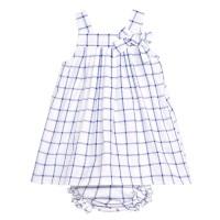 Stella Check Dress & Pants Set