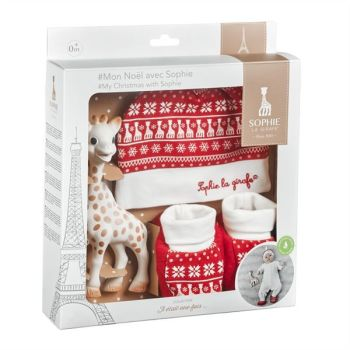 Sophie La Girafe My Christmas with Sophie the Giraffe Gift Set