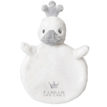 BAM BAM Baby Crown Duckling Tuttle - White/Grey
