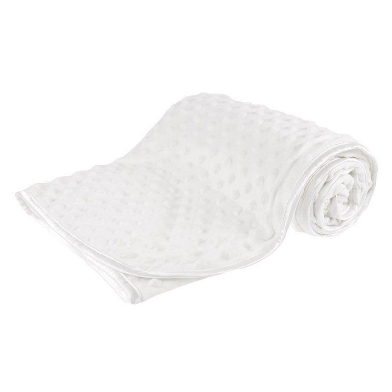 Soft Bubble Blanket - White