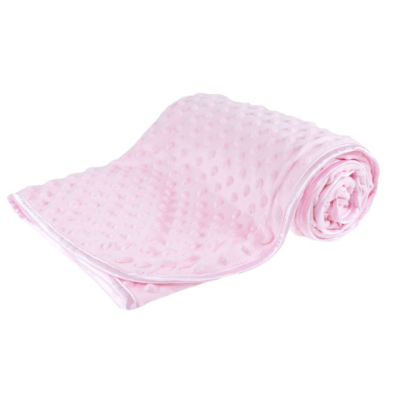 Soft Bubble Blanket - Pink