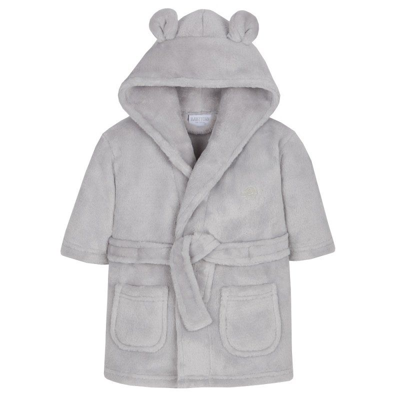 Super Soft Dressing Gown - Grey