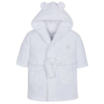 Super Soft Dressing Gown - White