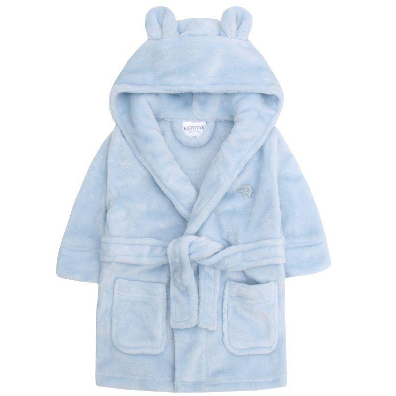 Super Soft Dressing Gown - Blue
