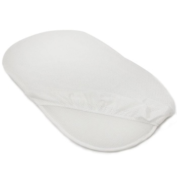 PurFlo Breathable Crib Fitted Sheets - White
