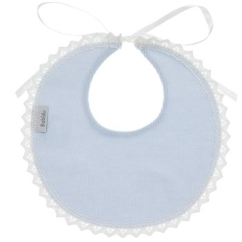 Babidu Cotton Bib - Blue