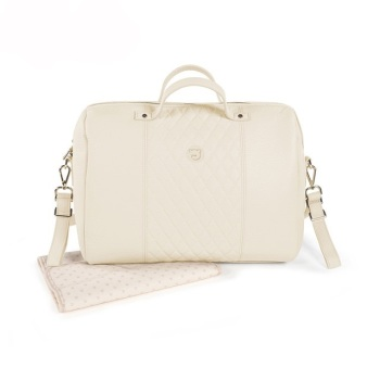 Pasito a Pasito MARIA Baby Changing Bag - Cream
