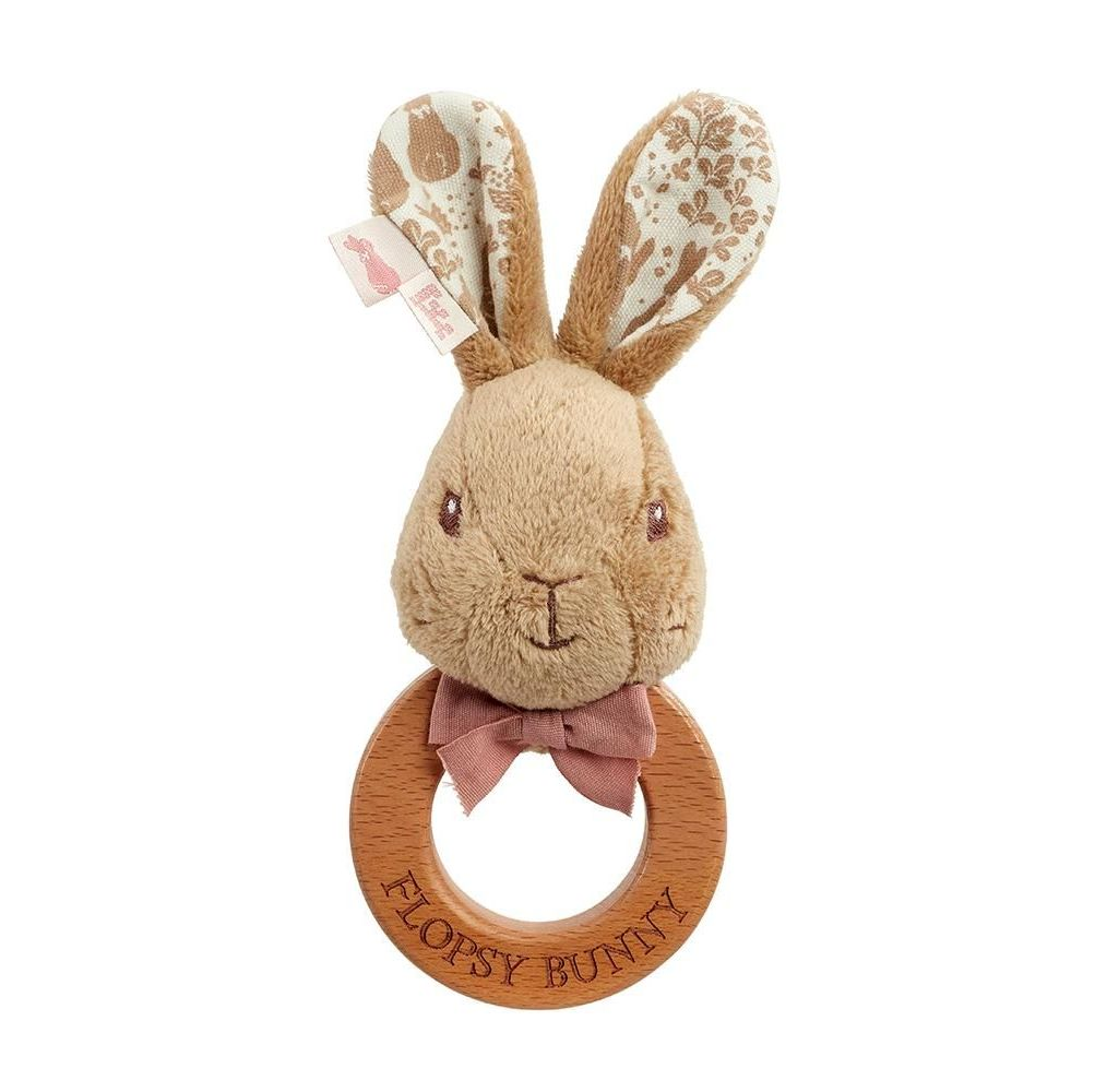 Signature Flopsy Rabbit Ring Rattle