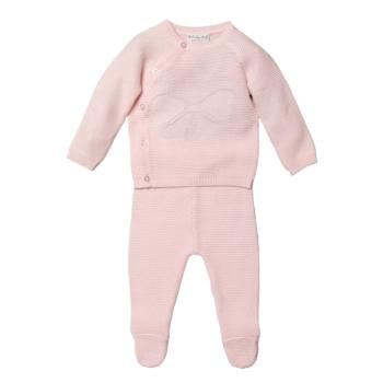 Sophia Knitted Jumper & Pants Set - Pink