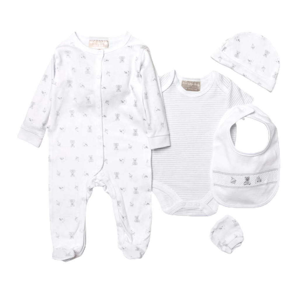 Nostalgia Layette Gift Set - White